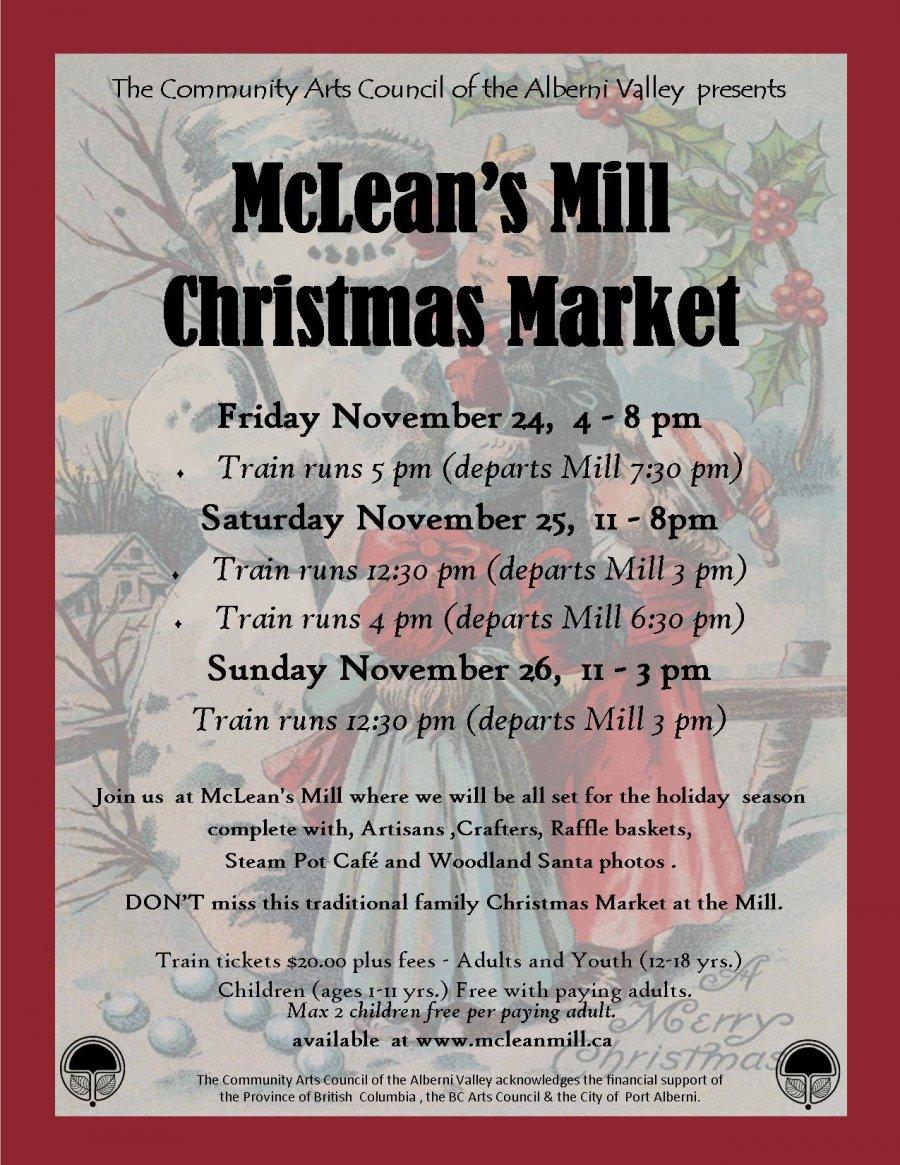 McLean Mill Christmas Market