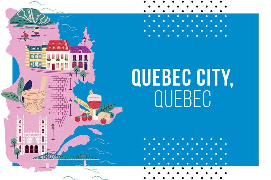 Quebec school trip