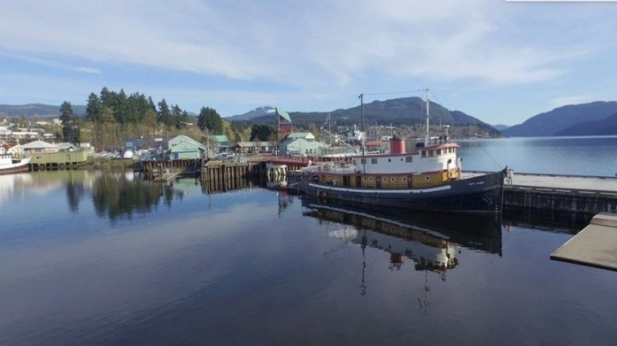 The Swept Away Inn located at the Harbour Quay, Port Alberni, BC