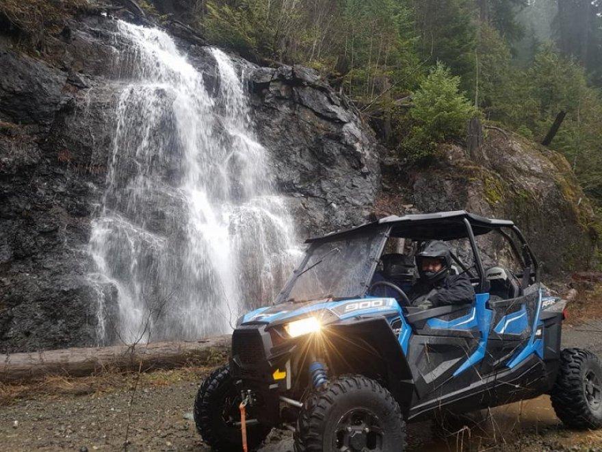 Exploring with quad via West Coast Edge ATV