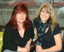 Owners Michelle Clarke & BrynTall
