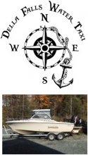 Della Falls Water Taxi logo